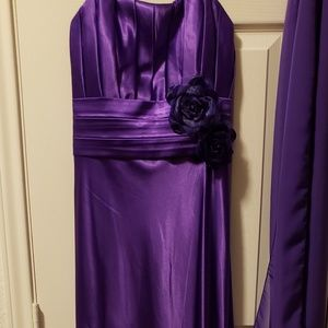 Purple Prom Gown